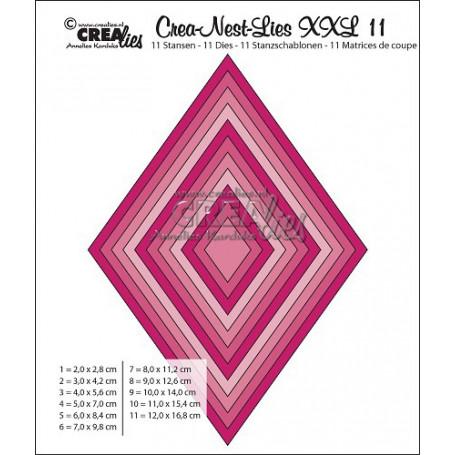 Dies Crea-Nest-Lies 11 XXL - Crealies