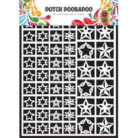 Embellissements papier A5 Etoiles – Dutch Paper Art - Dutch Doobadoo
