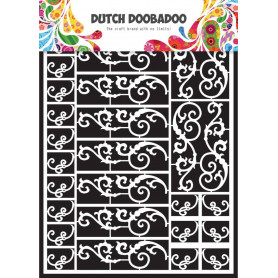 Embellissements papier A5 Swirls – Dutch Paper Art - Dutch Doobadoo