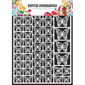 Embellissements papier A5 Papillons – Dutch Paper Art - Dutch Doobadoo