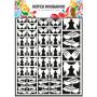 Embellissements papier A5 Plumes – Dutch Paper Art - Dutch Doobadoo