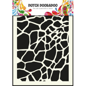 Pochoir A5 Girafe – Dutch Mask Art - Dutch Doobadoo