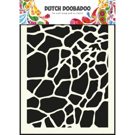 Pochoir A5 Girafe – Dutch Mask Art - Dutch Doobadoo