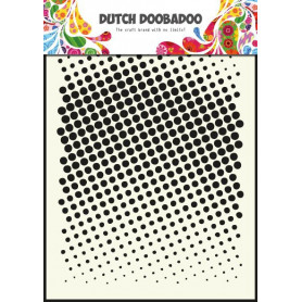 Pochoir A5 Points – Dutch Mask Art - Dutch Doobadoo
