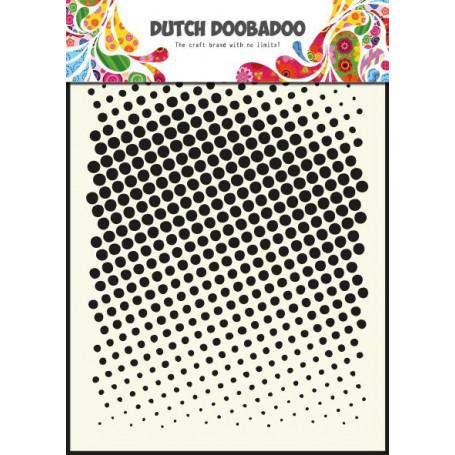 Pochoir A5 Points – Dutch Mask Art - Dutch Doobadoo