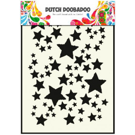 Pochoir A5 Etoiles – Dutch Mask Art - Dutch Doobadoo
