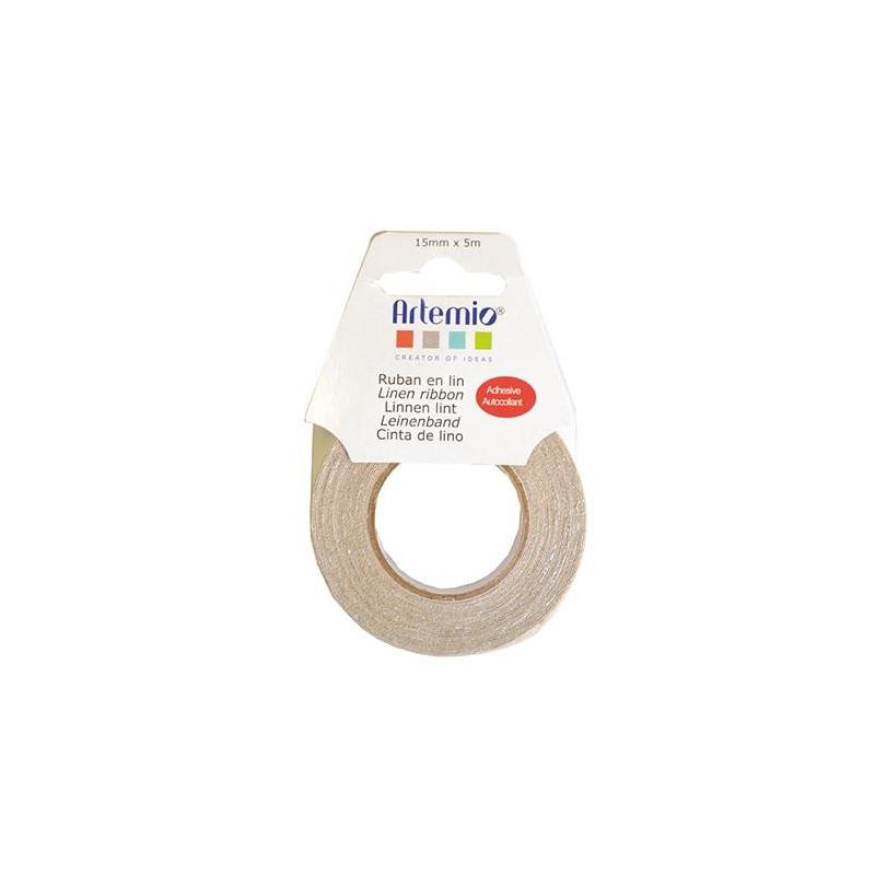 Ruban en lin 15mm – Artemio
