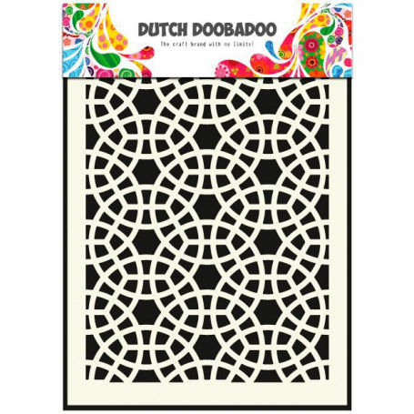 Pochoir A5 Mosaïque – Dutch Mask Art - Dutch Doobadoo