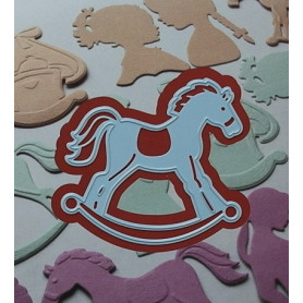 Creatables Rocking horse LR0347 - Marianne Design