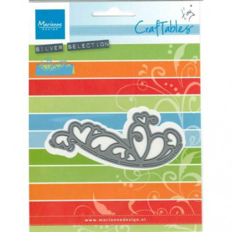 Craftables Folding Die Coeur CR1268 - Marianne Design