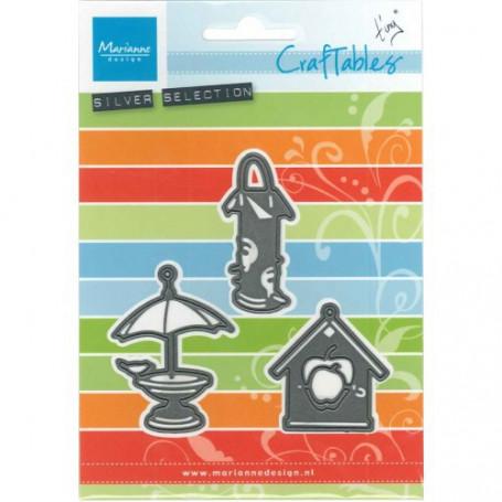 Craftables Tiny's Birdhouse CR1291- Marianne Design