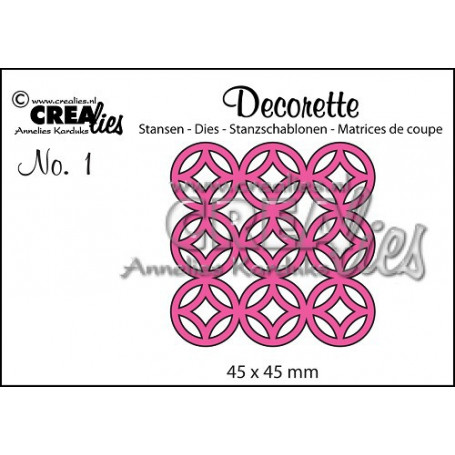 Die Decorette 1  - Crealies