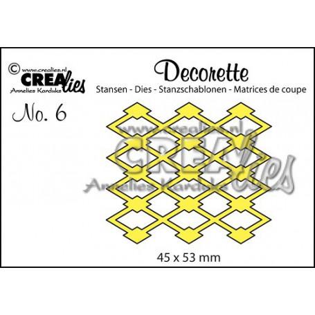 Die Decorette 6  - Crealies