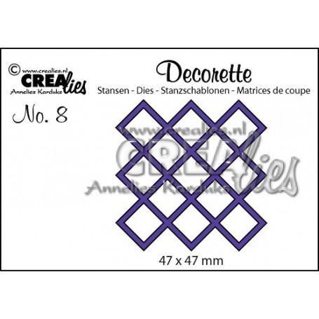 Die Decorette 8  - Crealies