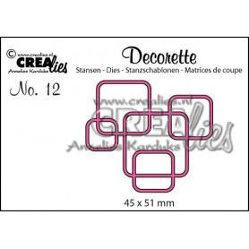 Die Decorette 12 - Crealies