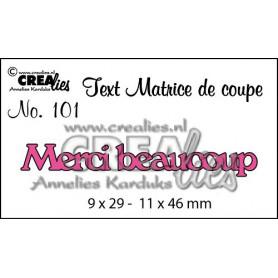 Die Texte 101 Merci beaucoup - Crealies