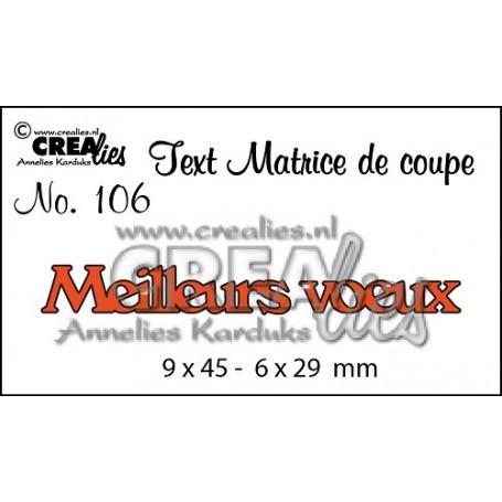 DieTexte 106 Meilleurs voeux - Crealies