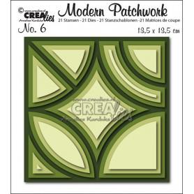Dies Modern Patchwork Set 6 - Crealies