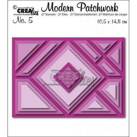 Dies Modern Patchwork Set 5  - Crealies