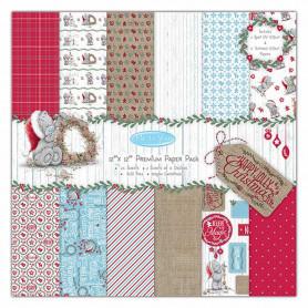 Set de papier 30x30 Happy Christmas 24f – Me To You