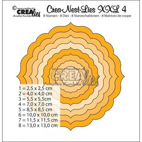 Dies Crea-Nest-Lies 4 XXL - Crealies