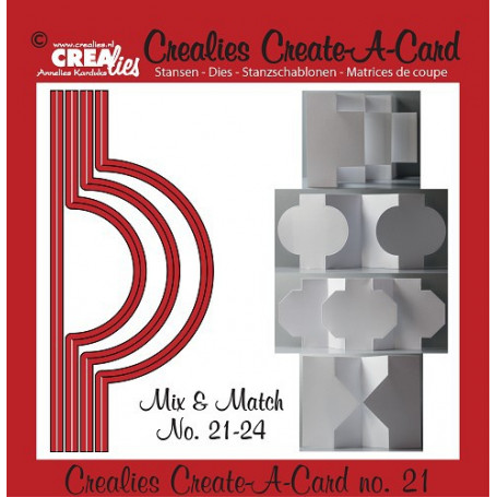 Die Create A Card no 21 Mix and Match - Crealies