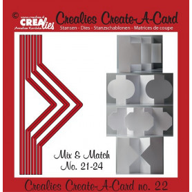 Die Create A Card no 22 Mix and Match - Crealies