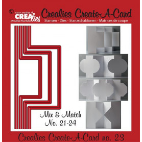 Die Create A Card no 23 Mix and Match - Crealies