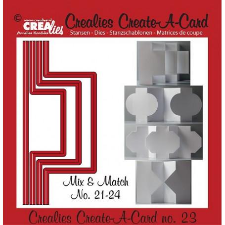 Die Create A Card no 23 Mix and Match - Crealies