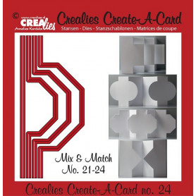 Die Create A Card no 24 Mix and Match - Crealies