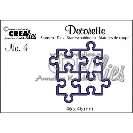 Die Decorette 4 Puzzle - Crealies