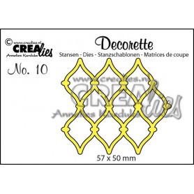 Die Decorette 10 - Crealies