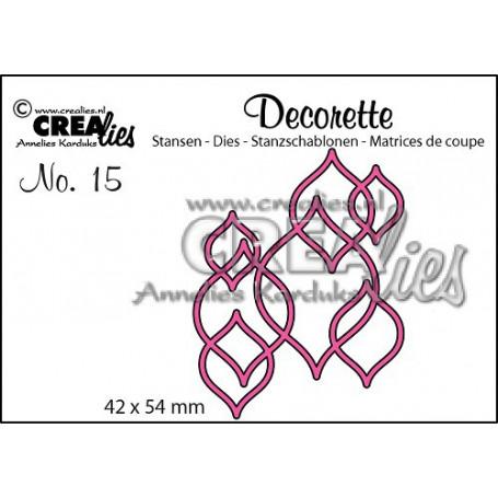 Die Decorette 15 - Crealies