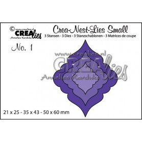 Dies Crea-Nest-Lies Small no 1 Christmas ornament 1 - Crealies