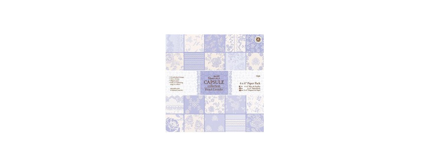 Collection French Lavender - Docrafts Papermania Capsule