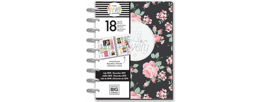 Agenda Happy Planner - Me & My Big Ideas