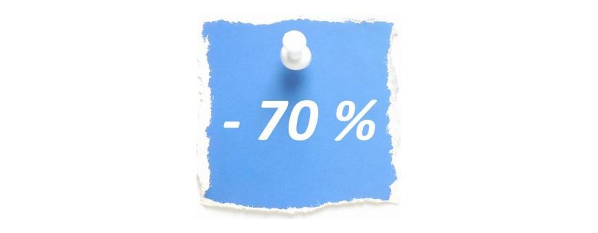 Soldes - 70 %