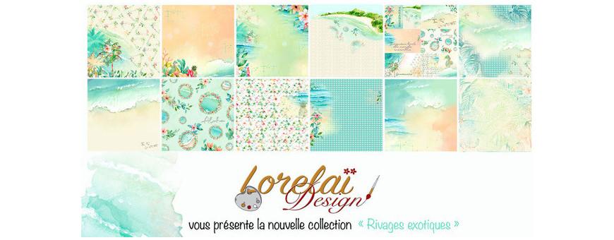 La collection Rivages Exotiques de Lorelaï Design
