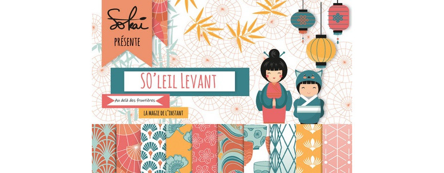 La collection So'Leil Levant de Sokaï