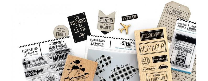 Collection Globe Trotter de Florilèges Design sur le thème du voyage