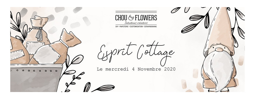 Collection Esprit Cottage de Chou & Flowers