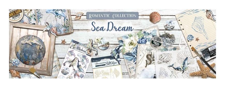 Retrouvez la collection Romantic Sea Dream de Stamperia chez Manoé Créa