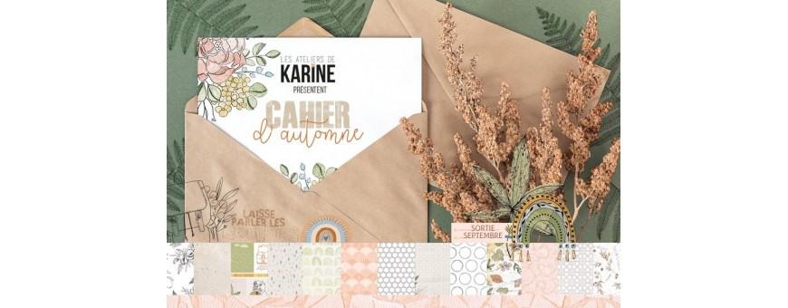 Retrouvez la collection Cahier d'Automne des Ateliers de Karine