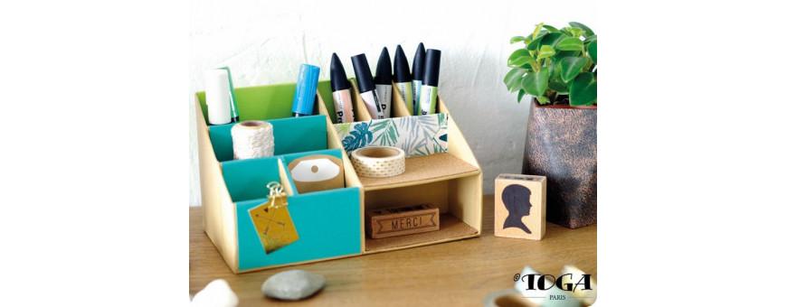 Boites, organiseurs, rangements à décorer